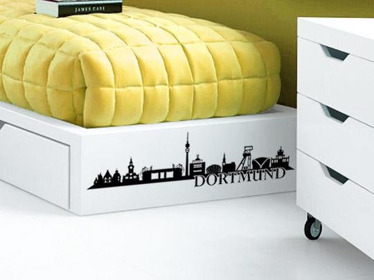 Möbeltattoo Dortmund Skyline