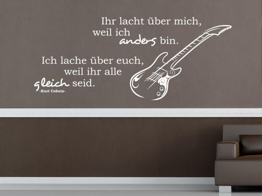 Zitate zum Thema Musik als Wandtattoos