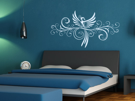 tipps f r einen erholsamen schlaf dekorative wandtattoos im schlafzimmer. Black Bedroom Furniture Sets. Home Design Ideas
