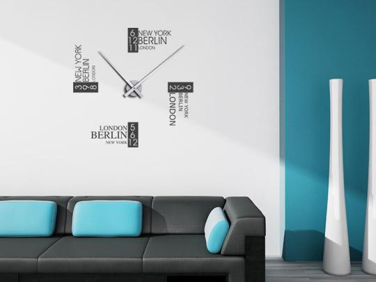 geschichte der uhr wandtattoo uhren. Black Bedroom Furniture Sets. Home Design Ideas