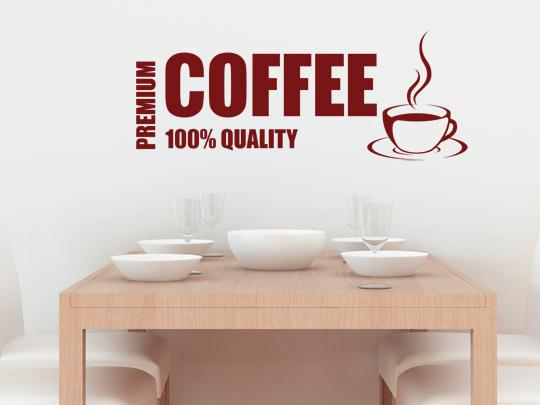 Kaffee Wandtattoos