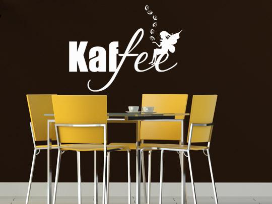 Kaffeegenuss und kaffee dekoration bei - Wandgestaltung bei dachschragen ...