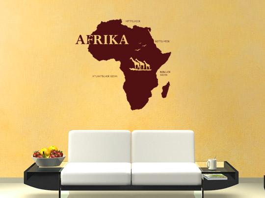 Wandsticker Afrika