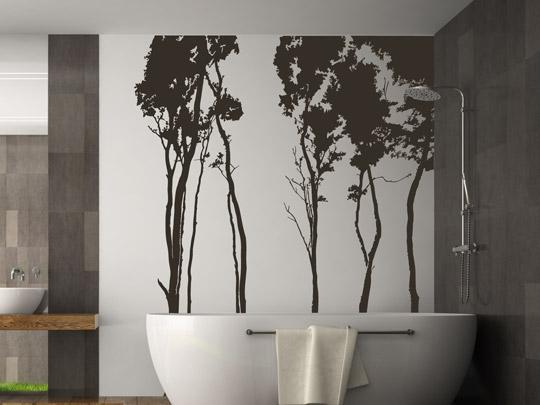 wandtattoos im badezimmer was beachten ideen tipp. Black Bedroom Furniture Sets. Home Design Ideas