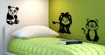 wandtattoo dschungel urwald wandtattoos. Black Bedroom Furniture Sets. Home Design Ideas