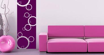 wandtattoo kreis harmonische kreise als wandtattoos. Black Bedroom Furniture Sets. Home Design Ideas