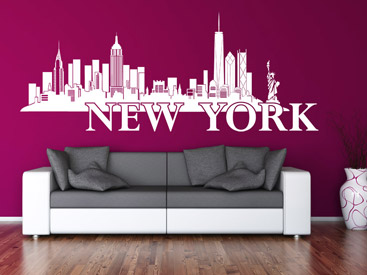 wandtattoo skyline st dte skylines als wandtattoos. Black Bedroom Furniture Sets. Home Design Ideas