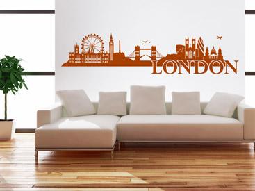 Wandtattoo skyline st dte skylines als wandtattoos - Skyline london wandtattoo ...
