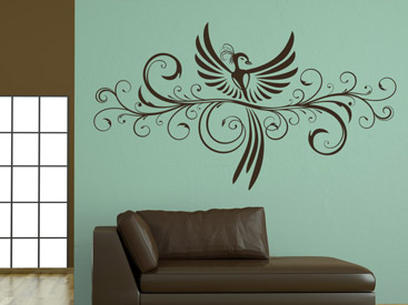 wandtattoo v gel fliegende v gel als wandtattoos. Black Bedroom Furniture Sets. Home Design Ideas