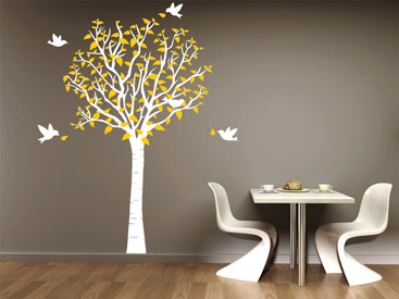 wandtattoo baum imposante b ume als wandtattoos. Black Bedroom Furniture Sets. Home Design Ideas