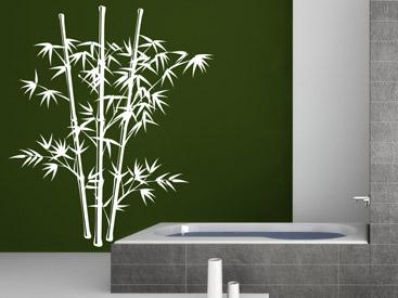 wandtattoo bambus wandtattoos rund ums thema bambus. Black Bedroom Furniture Sets. Home Design Ideas