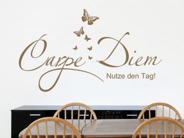 Wandtattoo Latein - lateinische Sprüche und Zitate als Wandtattoos