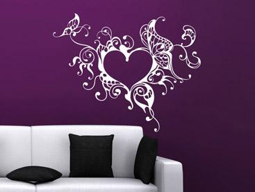 wandtattoo mit schn rkel verschn rkelte wandtattoos mit charme. Black Bedroom Furniture Sets. Home Design Ideas
