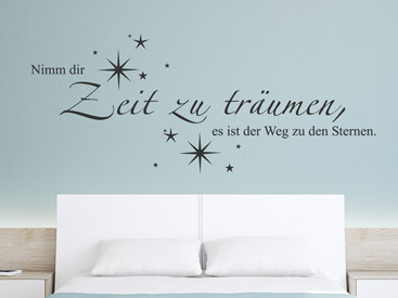 wandtattoo sterne traumhafte stern wandtattoos. Black Bedroom Furniture Sets. Home Design Ideas