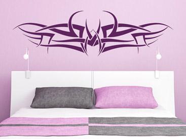 wandtattoo tribal sch ne tribals als wandtattoos. Black Bedroom Furniture Sets. Home Design Ideas