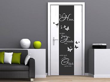 t r wandtattoo passende wandtattoos f r t ren t rtattoo. Black Bedroom Furniture Sets. Home Design Ideas
