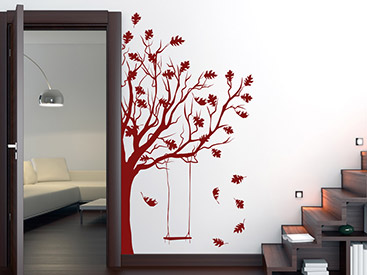 wandtattoo herbst stimmungsvolle wandtattoos f r den herbst. Black Bedroom Furniture Sets. Home Design Ideas