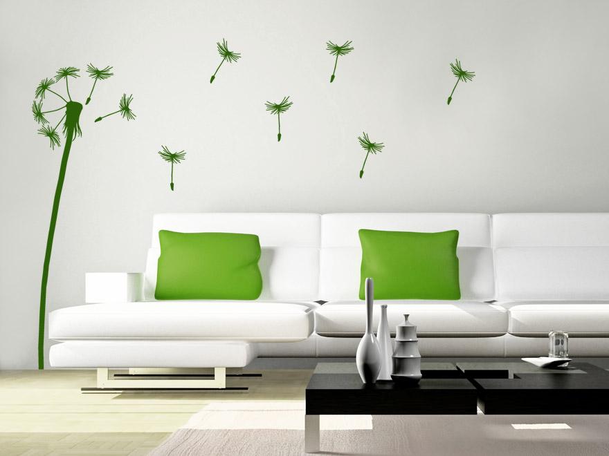 wandtattoo pusteblume von. Black Bedroom Furniture Sets. Home Design Ideas