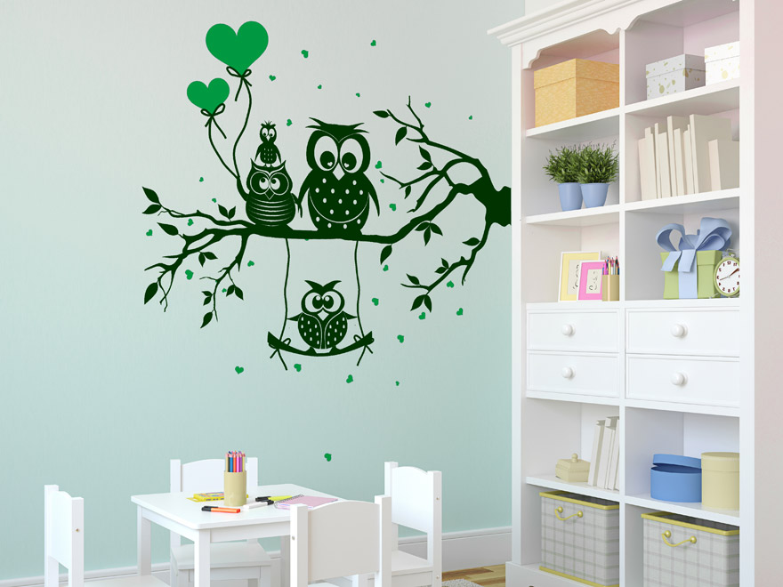 sch ne wandtattoo motive f r das kinderzimmer jungs und m dchen wandattoos. Black Bedroom Furniture Sets. Home Design Ideas