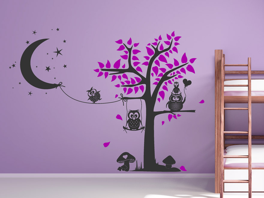wandtattoo kind sch ne kinder namen wandtattoos f rs kinderzimmer. Black Bedroom Furniture Sets. Home Design Ideas