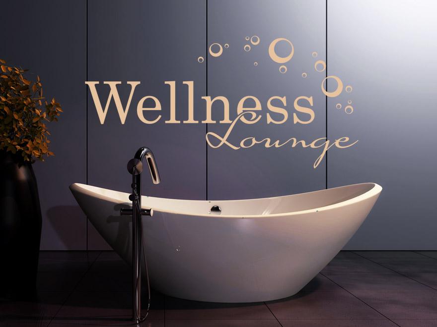 Wellness wandtattoo wellness lounge von - Wandtattoo wellness ...
