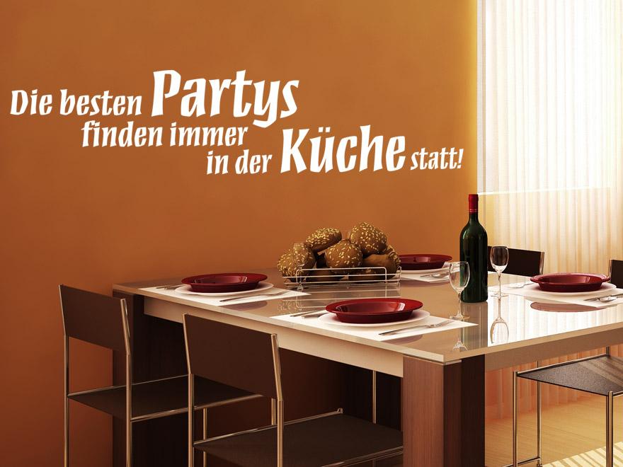 lustiges k chen wandtattoo die besten partys von. Black Bedroom Furniture Sets. Home Design Ideas