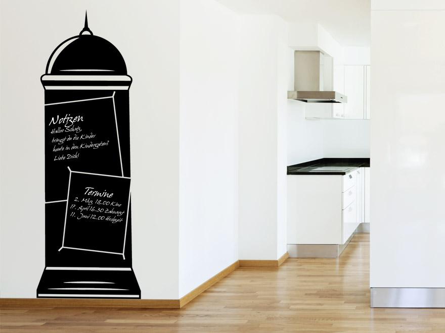 tafelfolie litfa s ule tafelfolien von. Black Bedroom Furniture Sets. Home Design Ideas