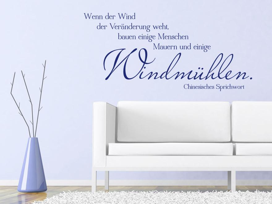 wandtattoo wind der ver nderung chinesisches sprichwort von. Black Bedroom Furniture Sets. Home Design Ideas