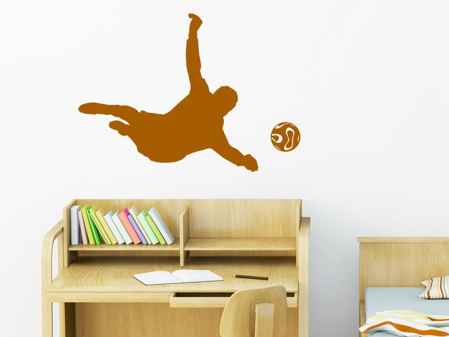 sport wandtattoo fu ball torh ter von. Black Bedroom Furniture Sets. Home Design Ideas
