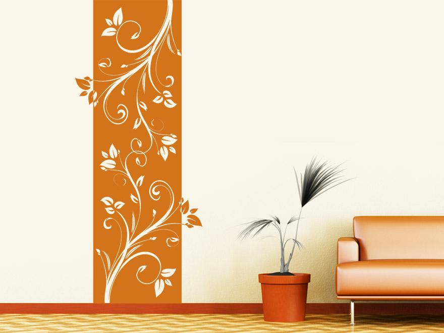 orange wand wohnzimmer haus design ideen