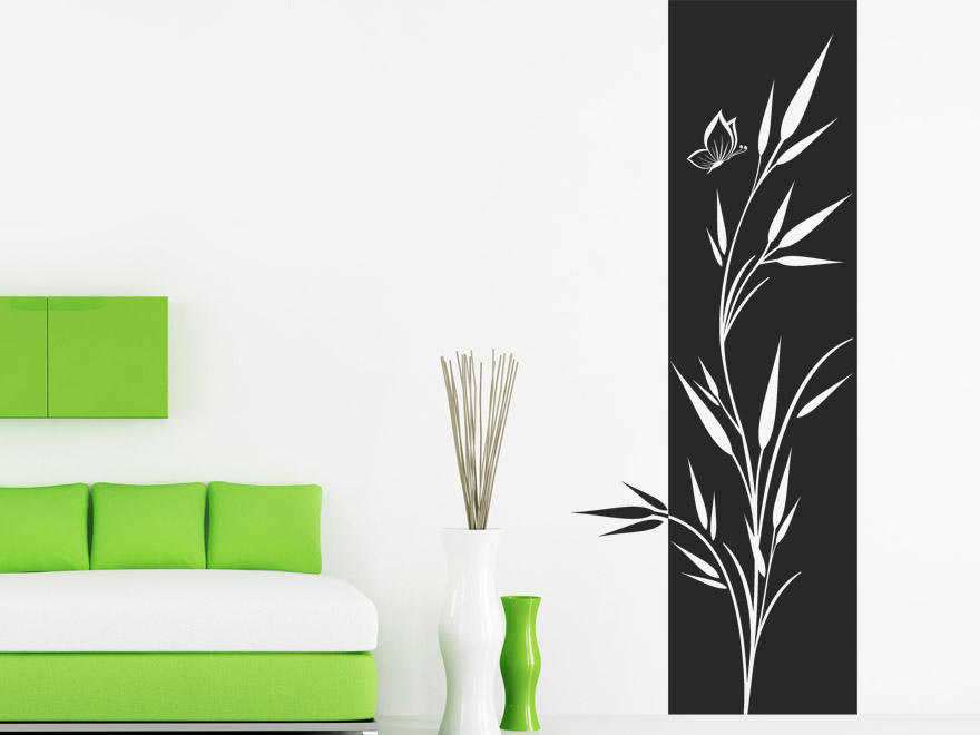 wandgestaltung gras inspiration f r die. Black Bedroom Furniture Sets. Home Design Ideas