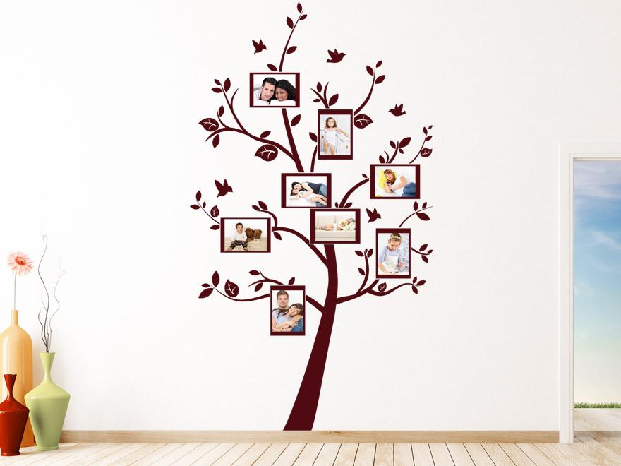 Baum wandtattoo foto baum von - Baum fur wohnzimmer ...