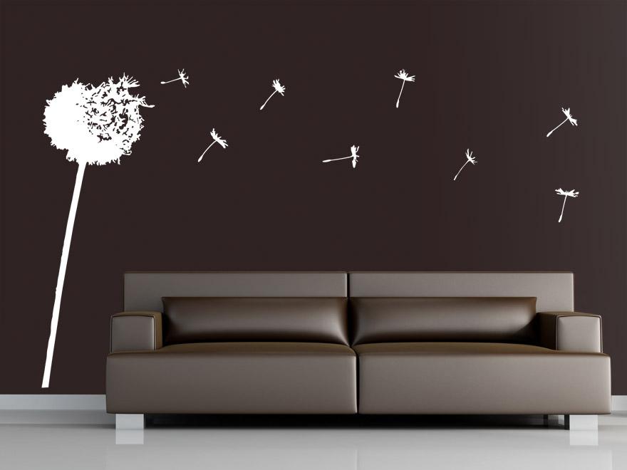 wandtattoo abstrakte pusteblume von. Black Bedroom Furniture Sets. Home Design Ideas