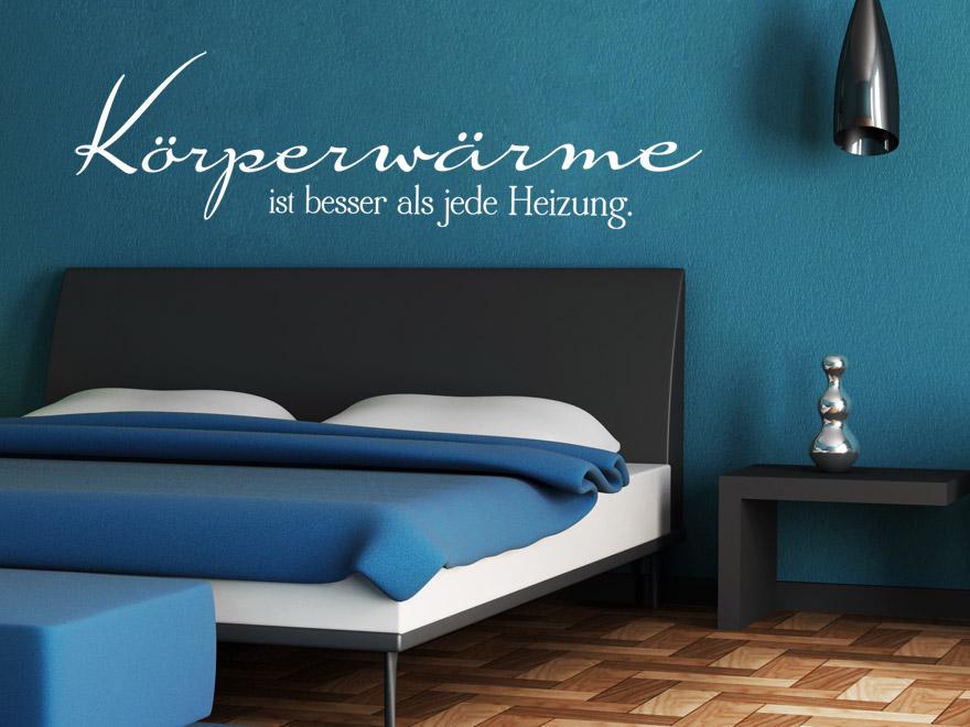 wandtattoo k rperw rme wandtattoo liebe von. Black Bedroom Furniture Sets. Home Design Ideas