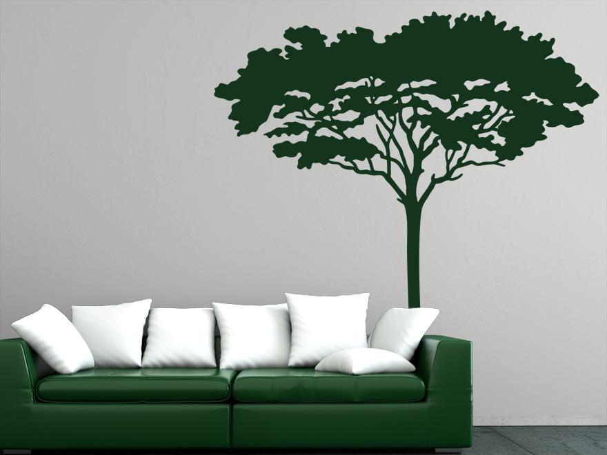 Delightful Wandtattoo Afrikanischer Baum