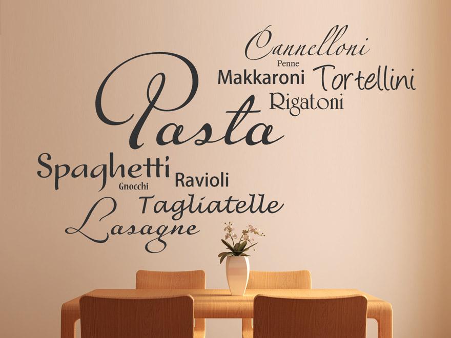 Wandtattoo Italienische Küche | Reuniecollegenoetsele