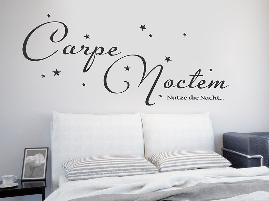 wandtattoo latein lateinische spr che und zitate als. Black Bedroom Furniture Sets. Home Design Ideas