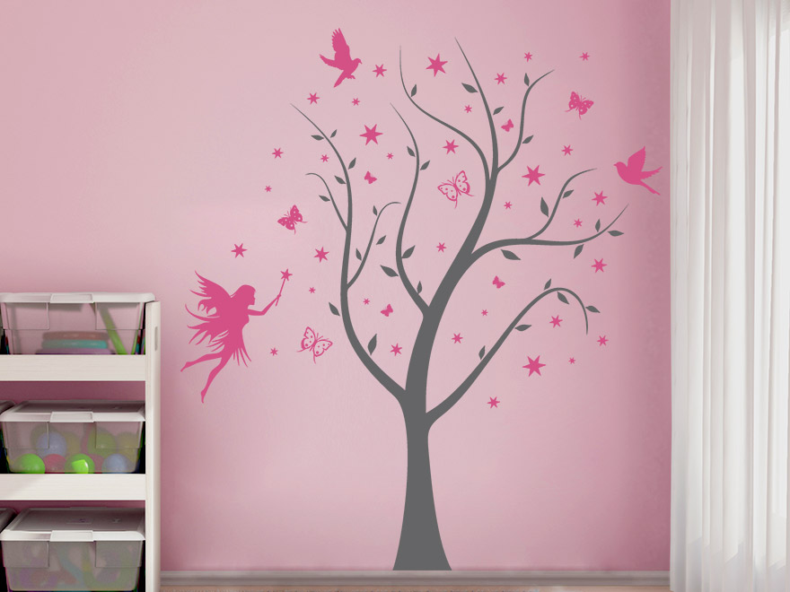 wandtattoo kinderzimmer pink reuniecollegenoetsele. Black Bedroom Furniture Sets. Home Design Ideas