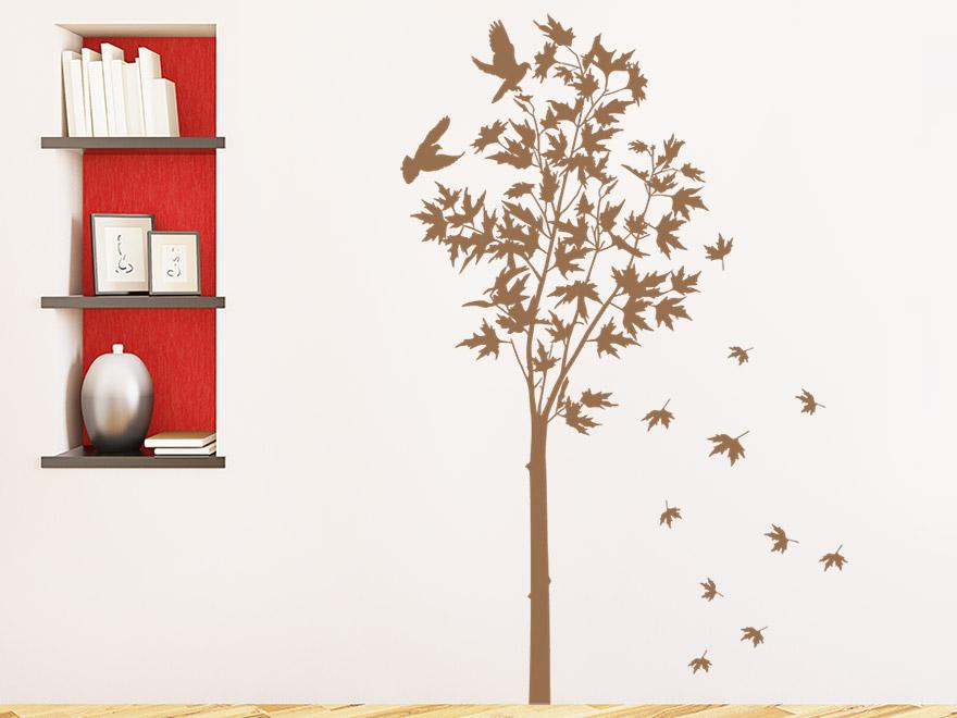 Wandtattoo Herbstbaum von Wandtattoo.net
