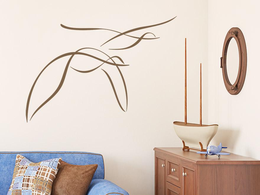 wandtattoo m wen von. Black Bedroom Furniture Sets. Home Design Ideas