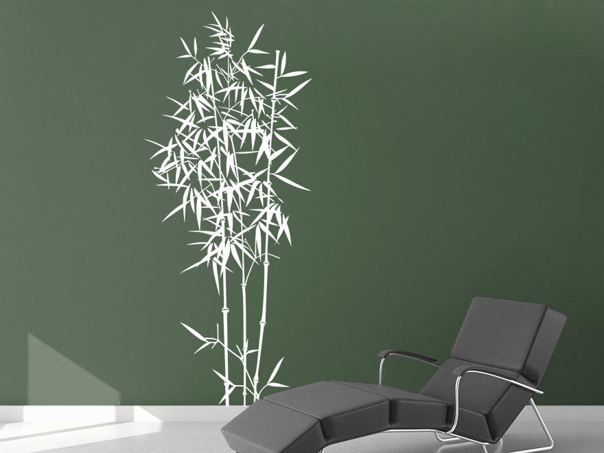 wandtattoo bambus strauch von. Black Bedroom Furniture Sets. Home Design Ideas