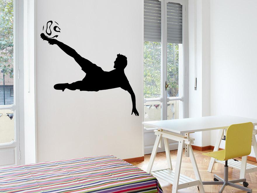fu ball wandtattoo traumtor von. Black Bedroom Furniture Sets. Home Design Ideas