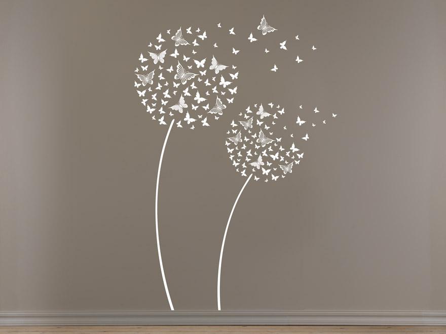 ... Blume Schmetterling Von Wandtattoo.net. Updated: ... Home Design Ideas