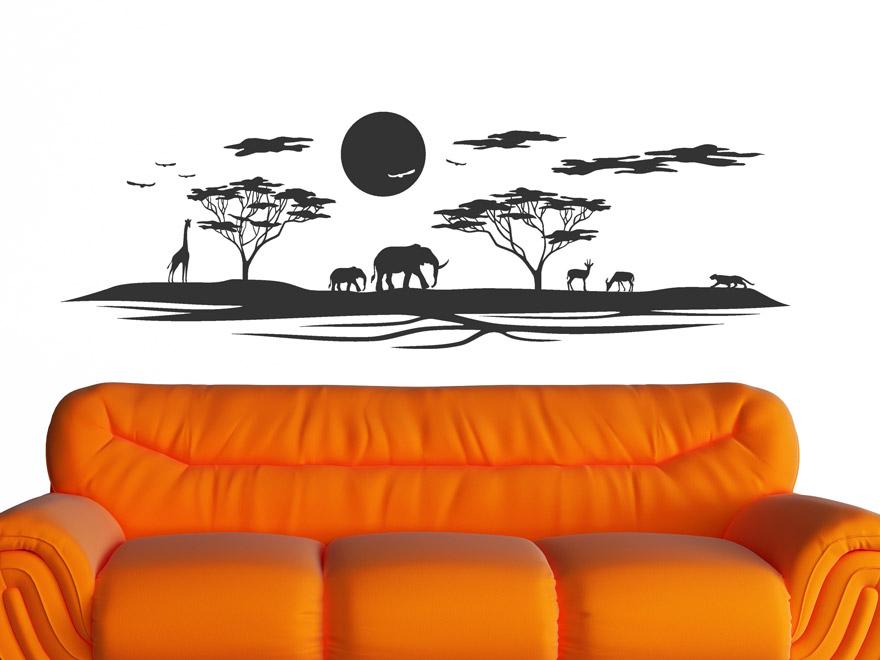 Wandtattoo Savanne In Afrika