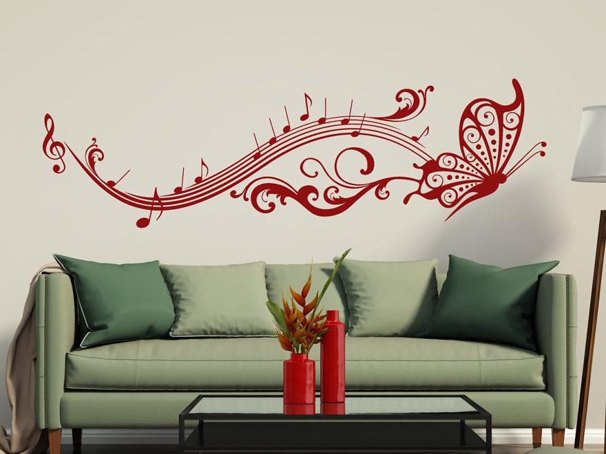 wandtattoo schmetterling rot reuniecollegenoetsele. Black Bedroom Furniture Sets. Home Design Ideas