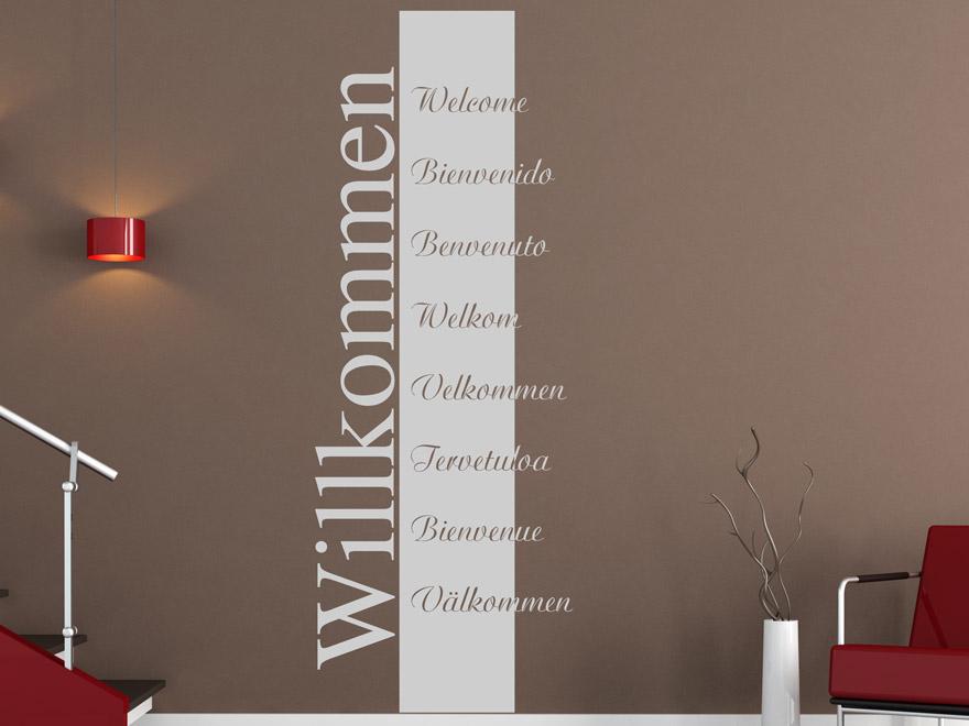Banner Willkommen von Wandtattoo.net