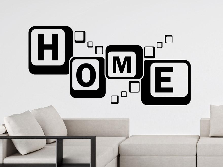 stunning wandtattoo wohnzimmer retro gallery - home design ideas ... - Wandtattoo Wohnzimmer Retro