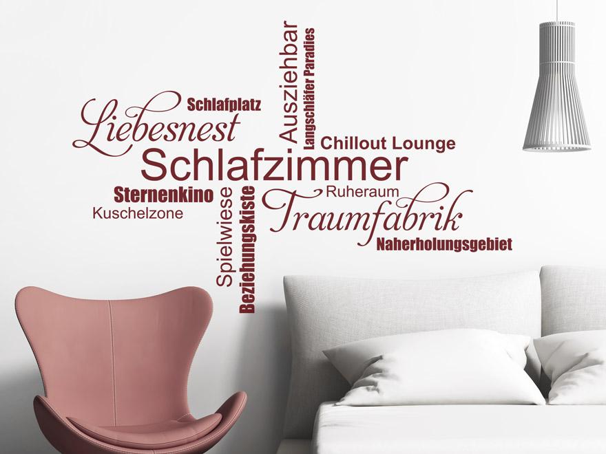 wandtattoo schlafzimmer sternenkino spielwiese von. Black Bedroom Furniture Sets. Home Design Ideas