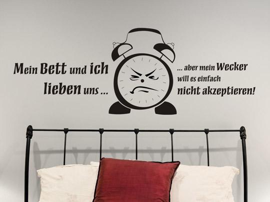 lustiger wandtattoo spruch lustige spr che als wandtattoos. Black Bedroom Furniture Sets. Home Design Ideas