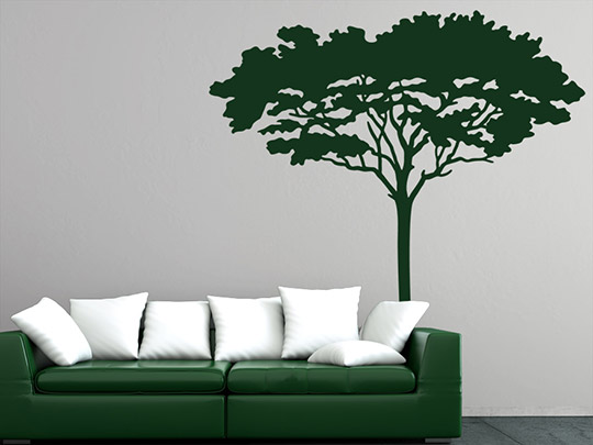 wandtattoo afrikanischer baum von. Black Bedroom Furniture Sets. Home Design Ideas